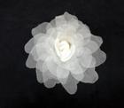 ER 573 Large Silk Organza Pointed Rose