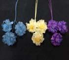 ER 607 Small Silk Organza Blossom