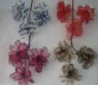 er587 Large Organza Blossom