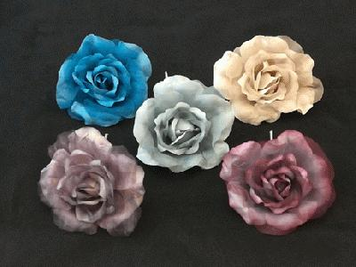 ER 341 Medium Silk/Organza Rose