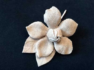 ER 386 Leather Camellia