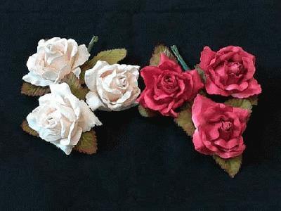 ER 4 Paper Roses /3