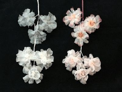 ER 587 Large Organza Blossom /3