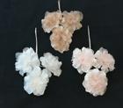 ER599 Seed Centred Silk Organza Blossom /3