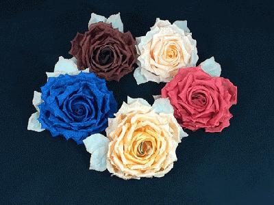 GF 25 Best Silk Rose/Leaves