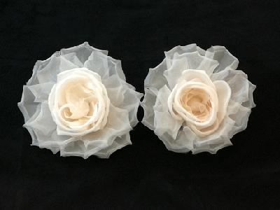 GF65 Large Silk/Organza Rose