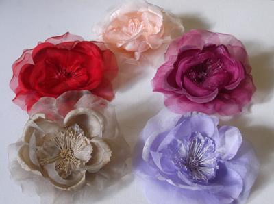 ER455 Organza Rose
