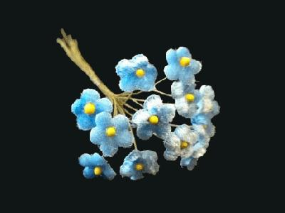 LB 52 Blue Tiny Velvet Forget-Me-Not /12