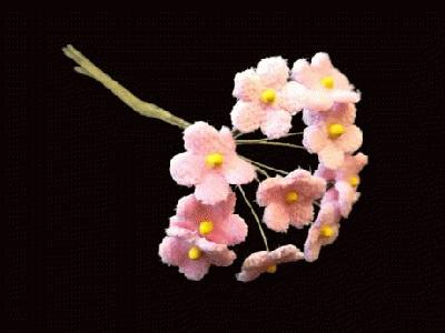 LB 53 Pink Small Velvet Forget-Me-Not /12