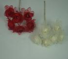 ER569 Silk Organza Rosebud