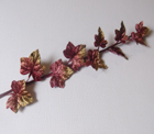 ER560 Graduated Velvet Ivy Leaf Spray /10