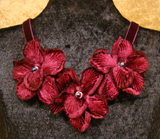 VN3 Velvet Orchid Necklace